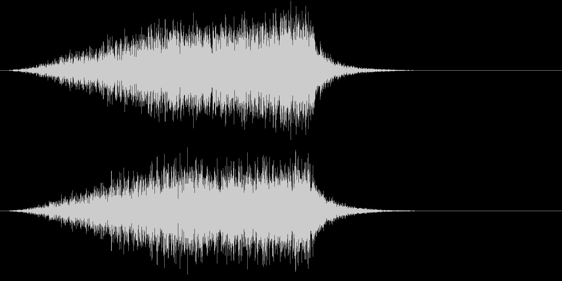 ホラー 近く 接近 恐怖 金属音 11の未再生の波形