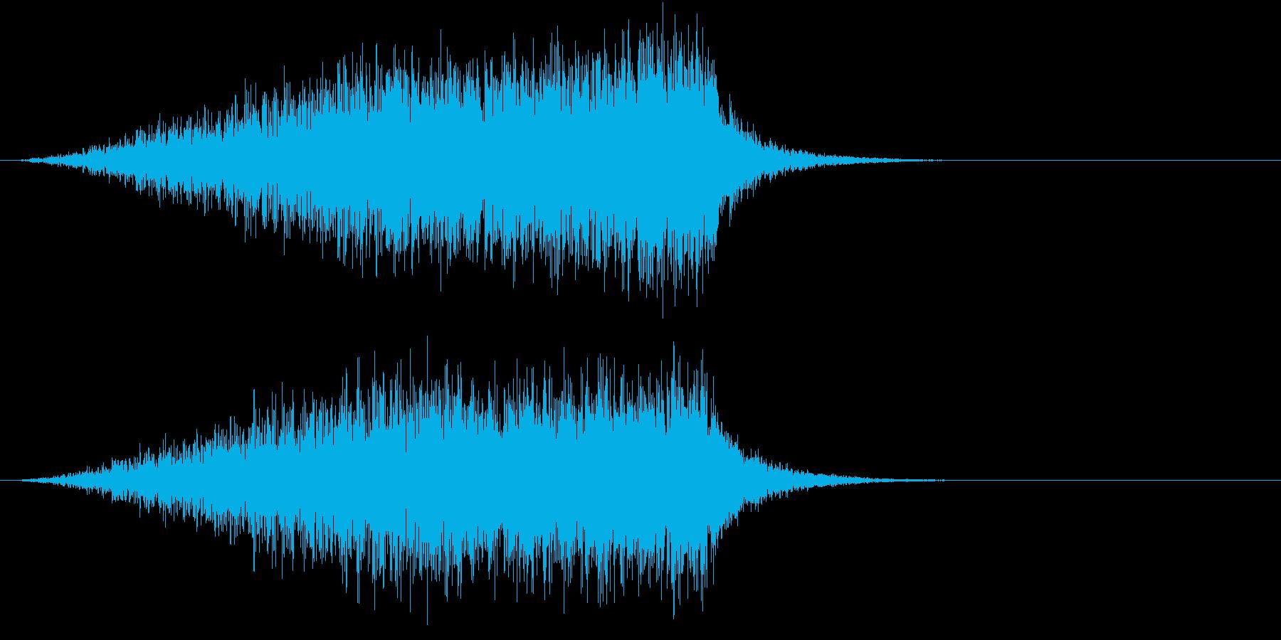 ホラー 近く 接近 恐怖 金属音 11の再生済みの波形