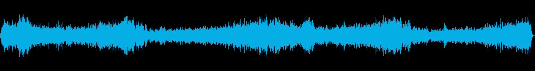 ホラー風BGM -監視-の再生済みの波形