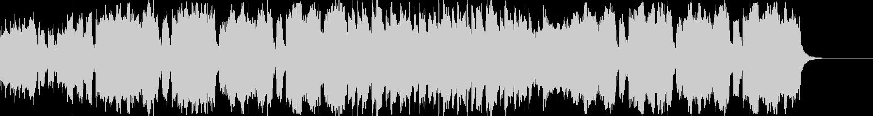 ハロウィンに使える少しおどけたBGMの未再生の波形