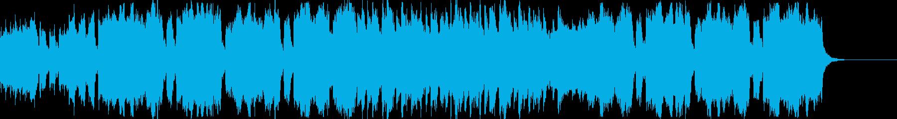 ハロウィンに使える少しおどけたBGMの再生済みの波形