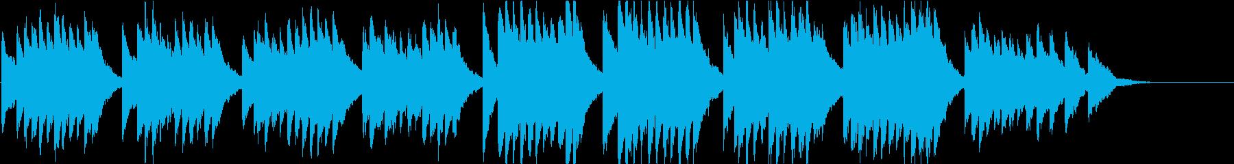 時報・チャイム風の名曲のメロディ・28の再生済みの波形