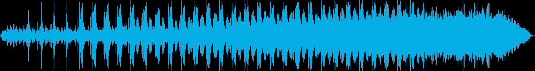 ヒーリング向け 幻想的なアンビエントの再生済みの波形