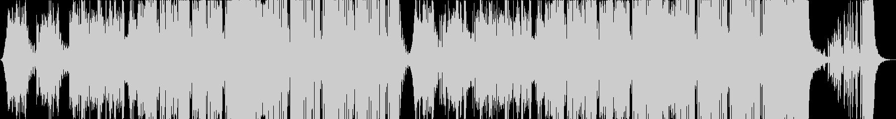 静かでクールなダンス系楽曲(洋楽) の未再生の波形