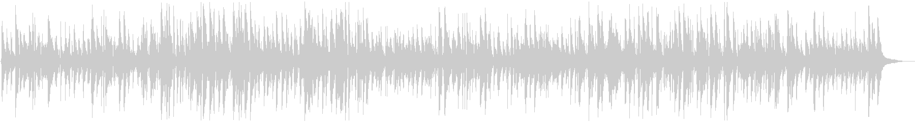 Moist and rhythmic bossa nova jazz piano's unreproduced waveform