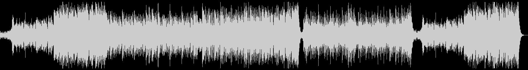 明るく華やかポップオーケストラx1の未再生の波形