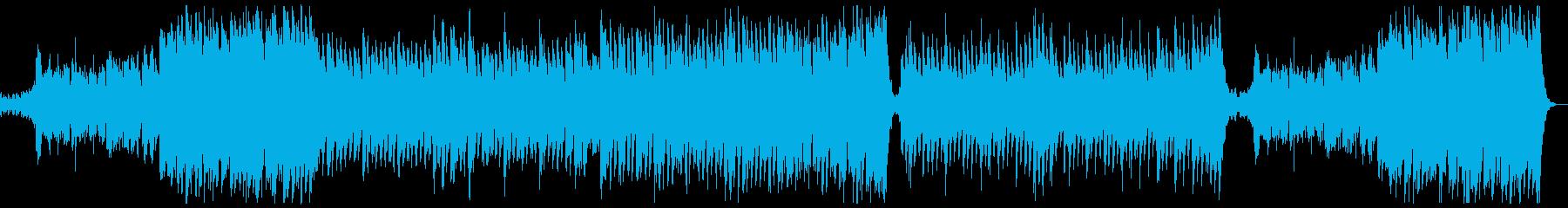明るく華やかポップオーケストラx1の再生済みの波形