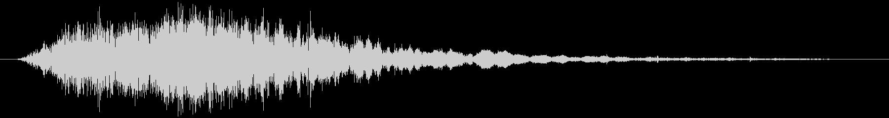斬撃音(刀や剣で斬る/刺す効果音)07cの未再生の波形
