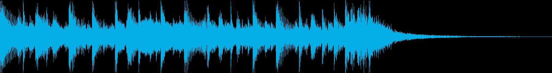 ウクレレ、ギター、リードシンセ、ス...の再生済みの波形