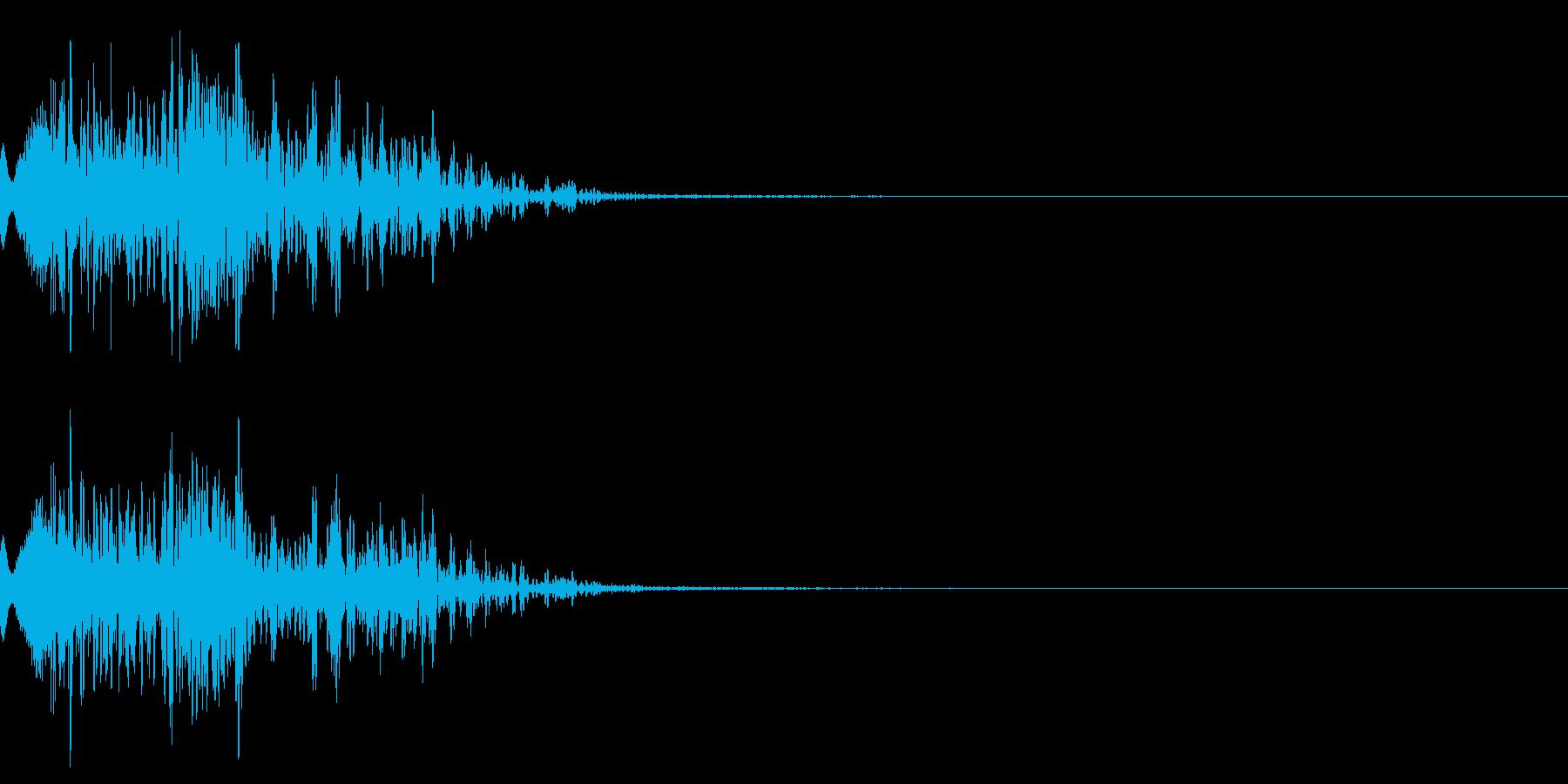 ショット_その9の再生済みの波形