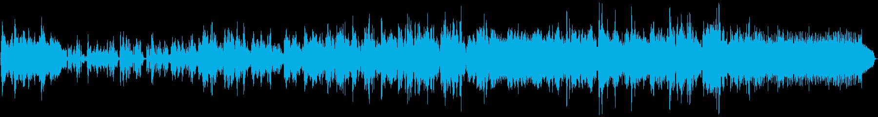 ニ胡の奏でるゆったりとした旋律の再生済みの波形