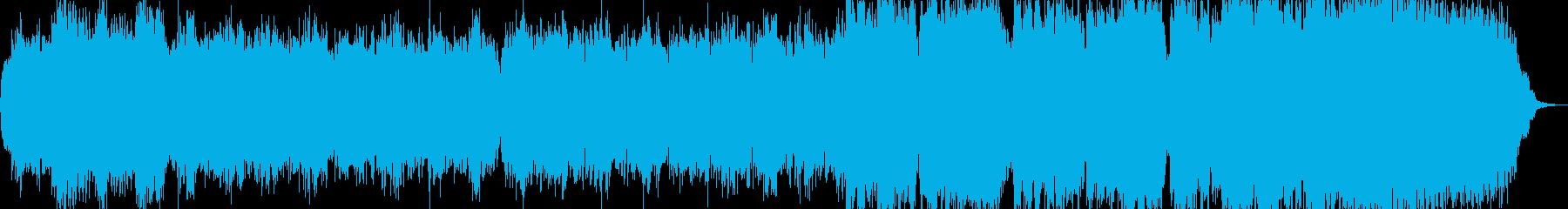 富田勲風の壮大な巡礼のオリジナルBGMの再生済みの波形