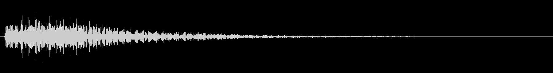 KANTアプリサウンド010224の未再生の波形
