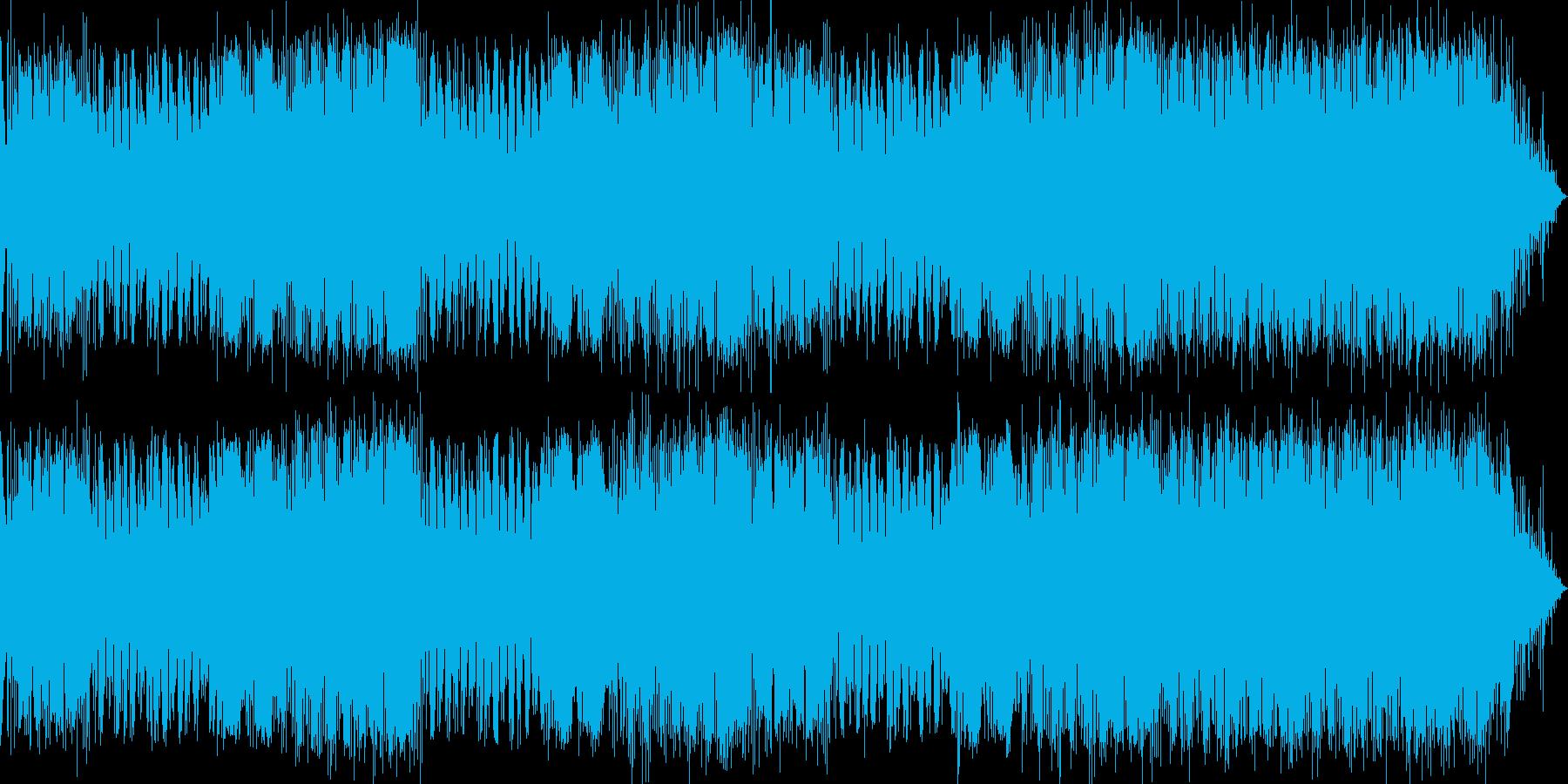 みんなのうた 風楽曲の再生済みの波形