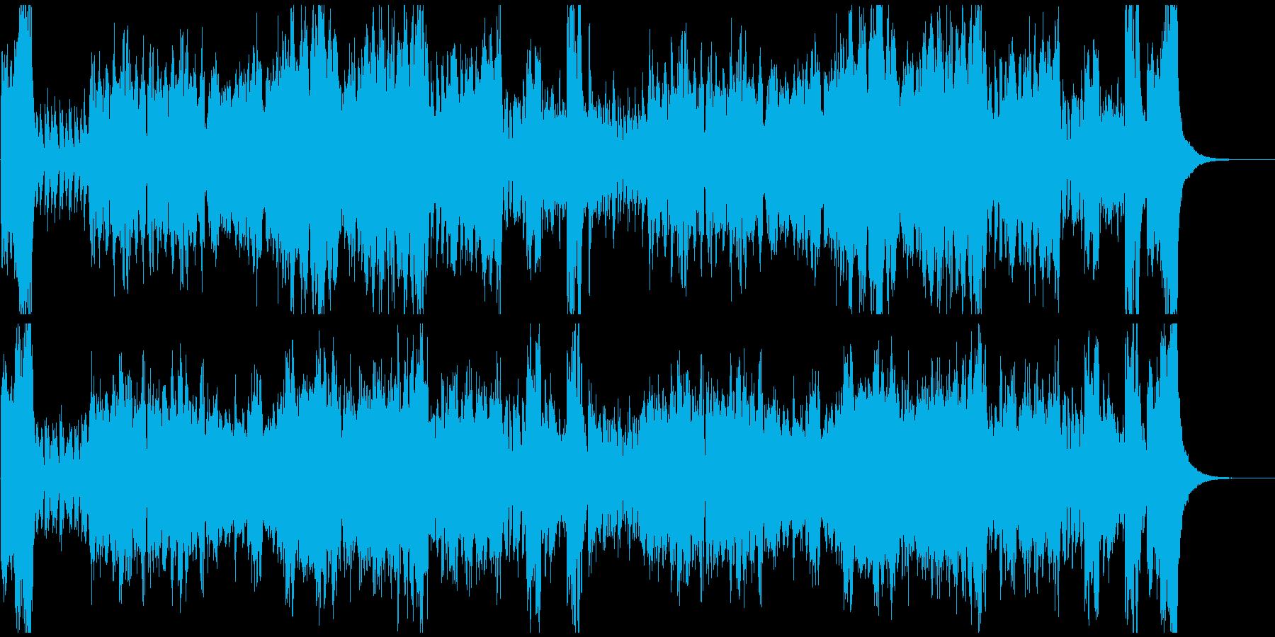 イベントやゲームに 冒険 オーケストラの再生済みの波形