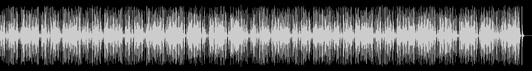 木琴がコロコロ可愛いレトロジャズの未再生の波形