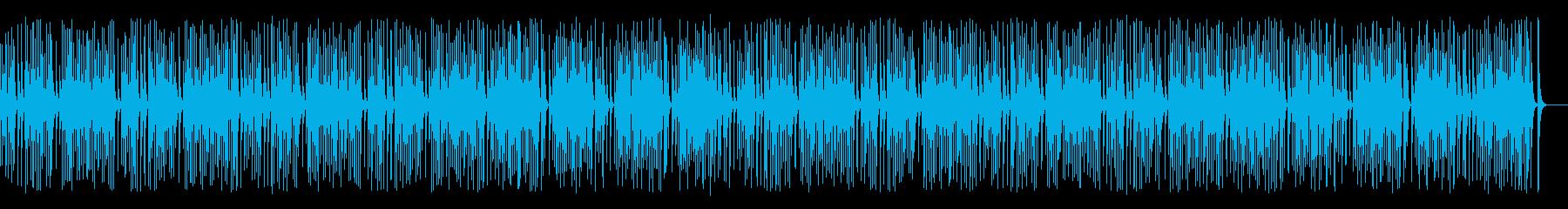 木琴がコロコロ可愛いレトロジャズの再生済みの波形