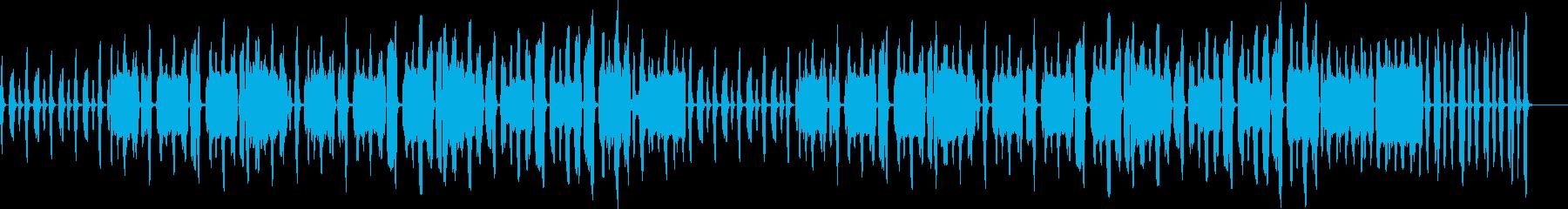 日常パート・口笛・リコーダー・説明・紹介の再生済みの波形