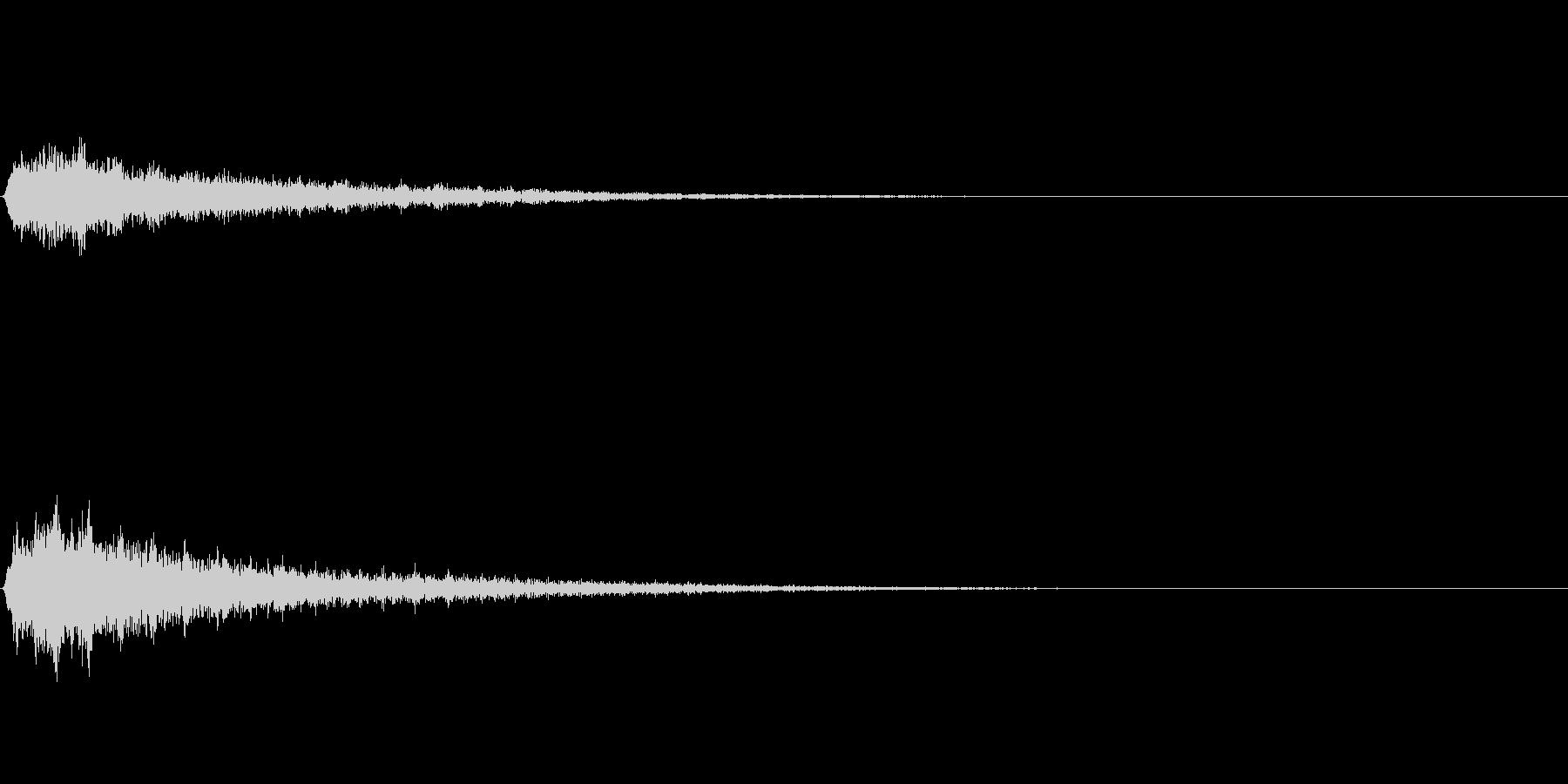 シュワーン② (SF扉が開く音)の未再生の波形