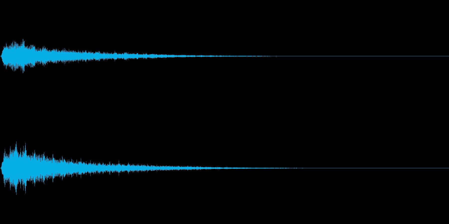 シュワーン② (SF扉が開く音)の再生済みの波形