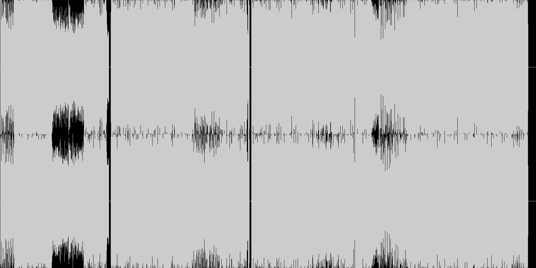 めちゃくちゃ踊れる渾身のロックEDM!の未再生の波形