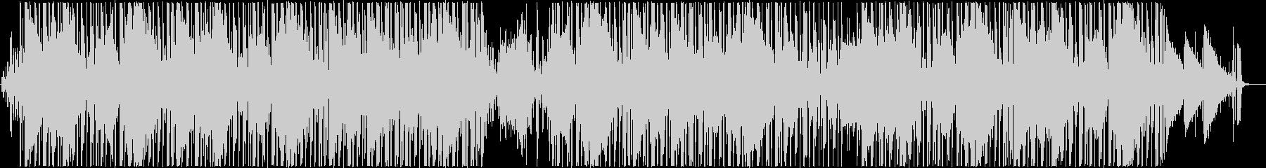 エレピとベースのメロウなヒップホップの未再生の波形
