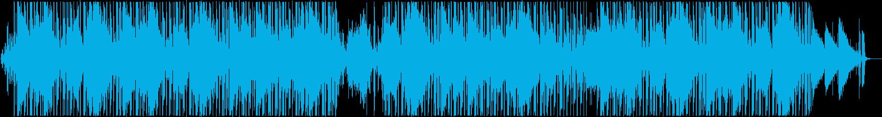 エレピとベースのメロウなヒップホップの再生済みの波形