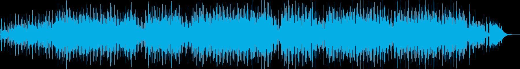 おちゃらけた歌詞のほのぼのポップスの再生済みの波形