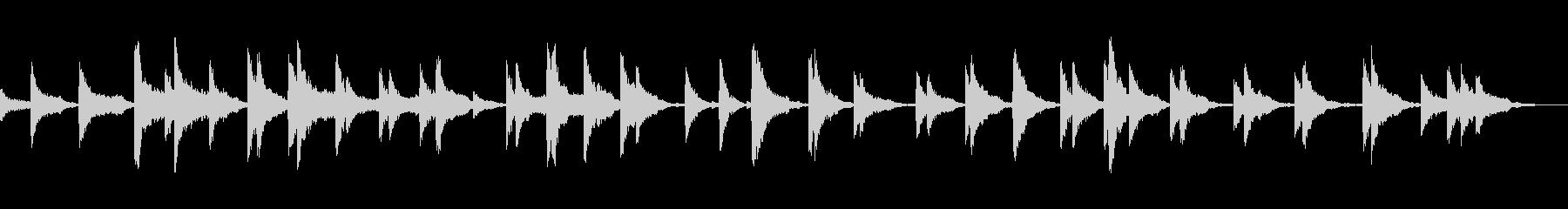 映画 スローな口笛風シンセ 癒し 催眠の未再生の波形