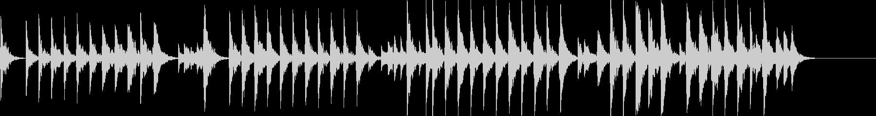 童謡「夕焼け小焼け」オルゴールbpm66の未再生の波形