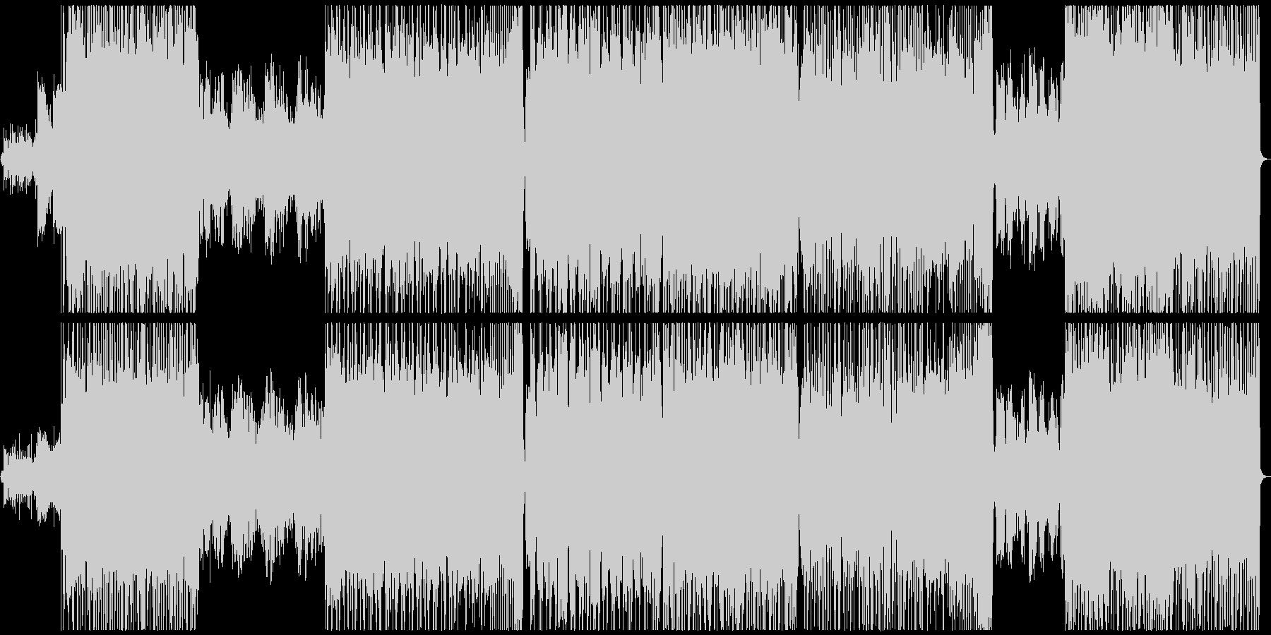 優しい雰囲気のロックバラードの未再生の波形
