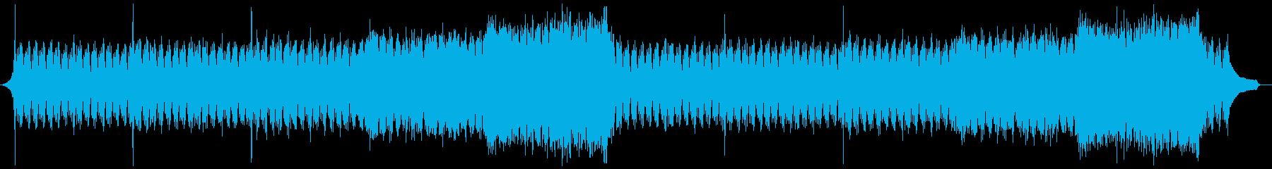 企業VP映像、111オーケストラ、爽快aの再生済みの波形