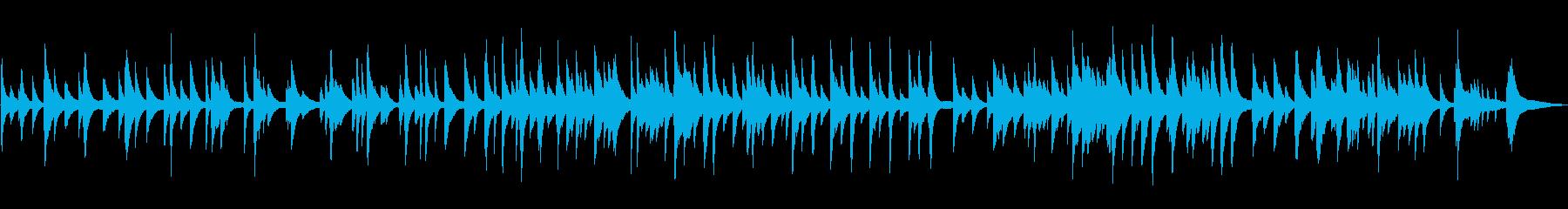 ゆっくりしっとりジャズラウンジピアノソロの再生済みの波形