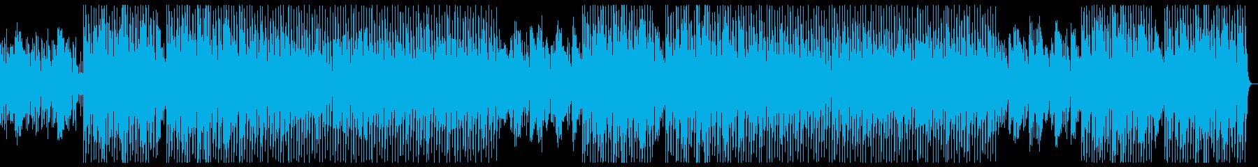 おしゃれjazzハウス生sax演奏の再生済みの波形