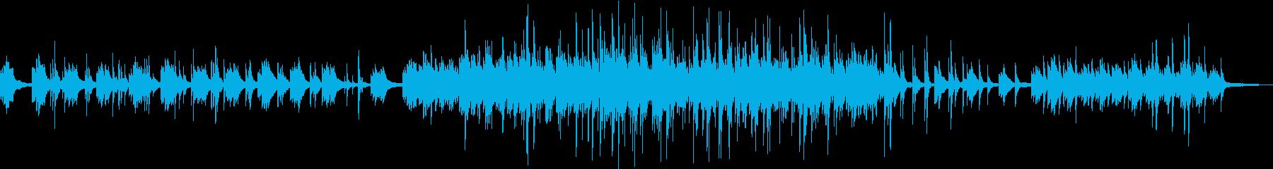 静かな海の様なヒーリングピアノバラード の再生済みの波形