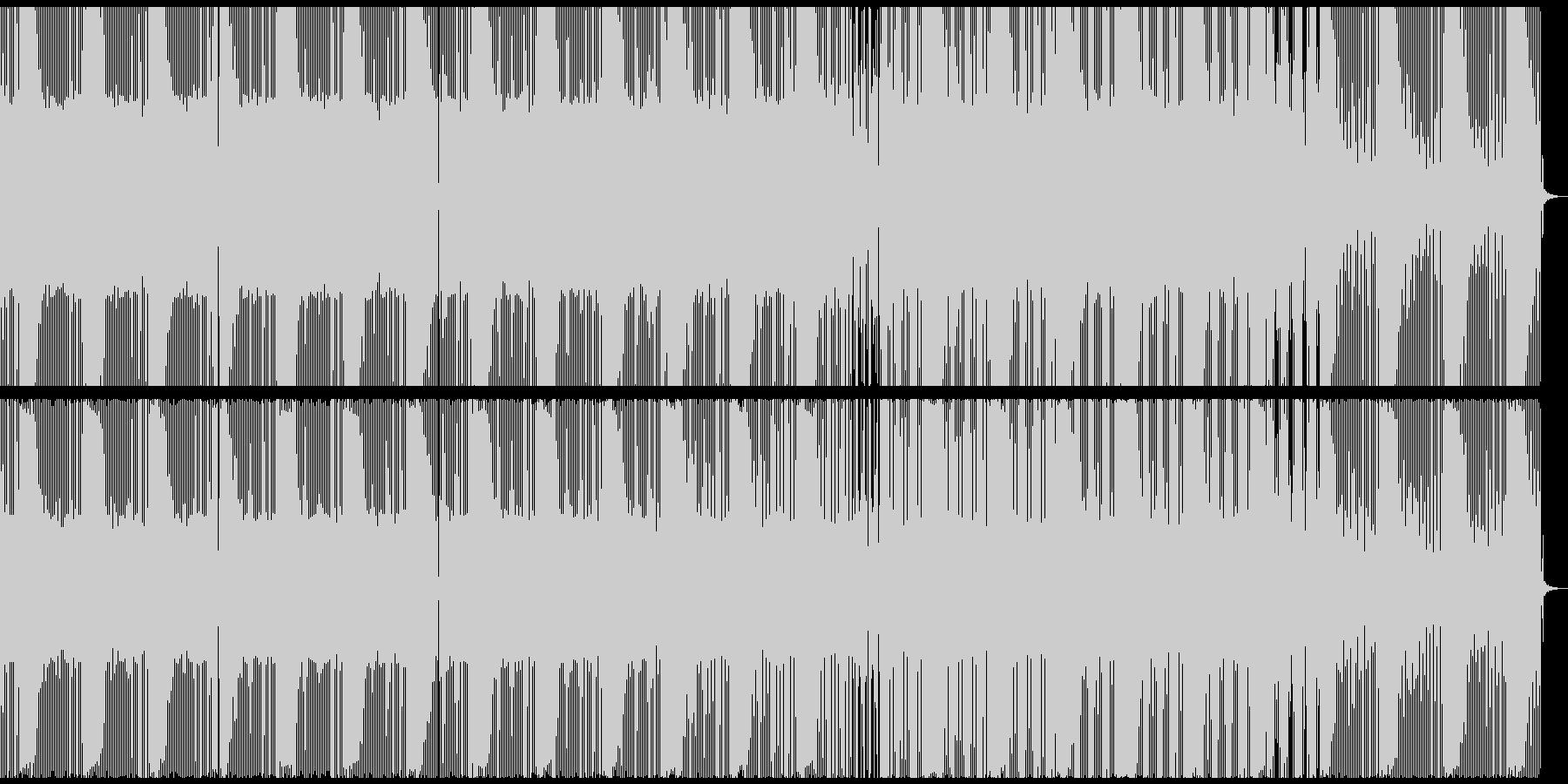 広大美麗minimal dubの未再生の波形