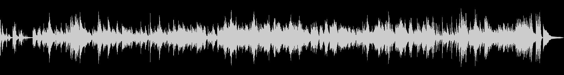 「浜辺の歌」 ソロジャズピアノ生演奏の未再生の波形
