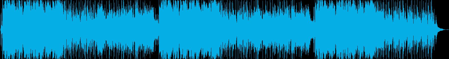 ほのぼの、軽快(ラウンジ系)明るめの再生済みの波形