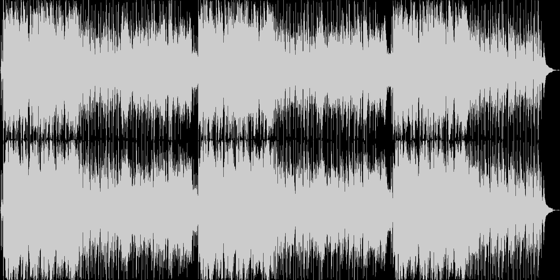 ほのぼの、軽快(ラウンジ系)明るめの未再生の波形