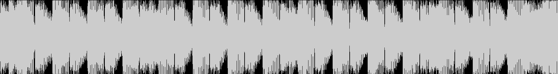 K-Popクラブ系ハードなEDMループSの未再生の波形