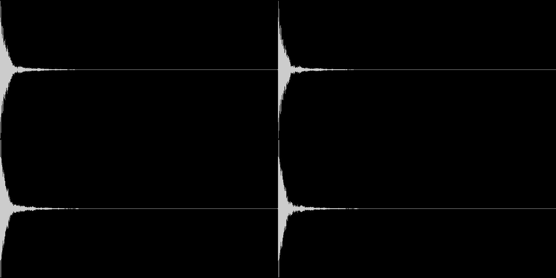 Japan 鼓の音 和楽器 3の未再生の波形