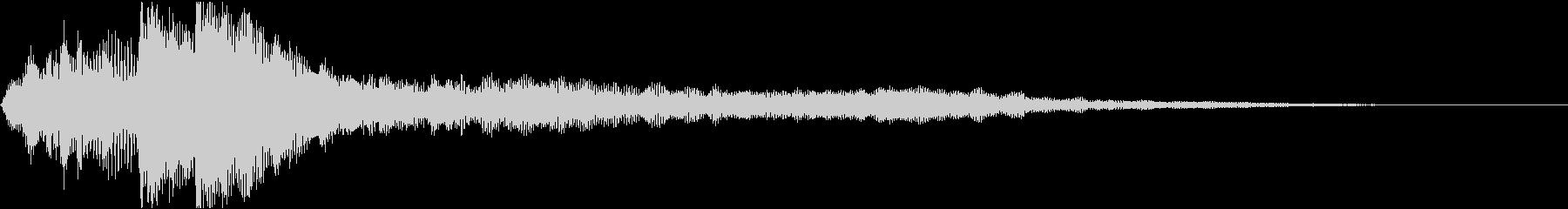 ローファイ・ドキュメンタル風ピアノbの未再生の波形