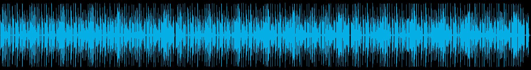 YouTube コミカルなピアノ・日常の再生済みの波形