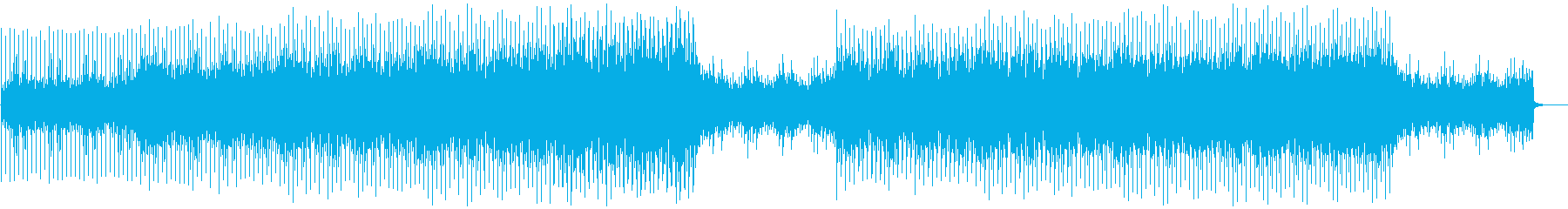 A futuristic EDM that gives you strong determination and belief's reproduced waveform