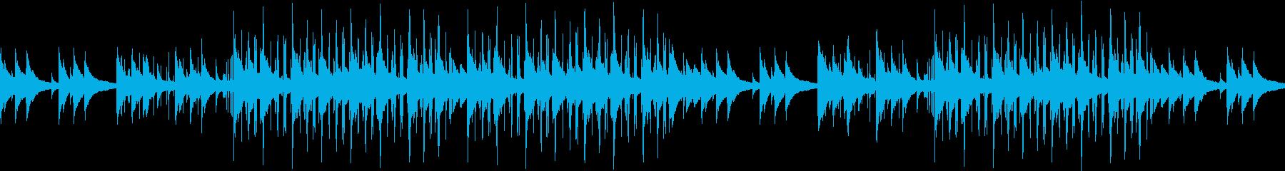 チルアウト・ローファイ・切ない・ピアノの再生済みの波形