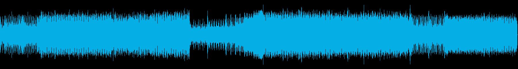 プログレッシブ。ランニング。の再生済みの波形