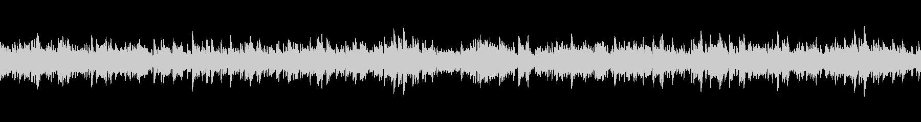 映像向けシンプルで切なく儚いピアノの未再生の波形