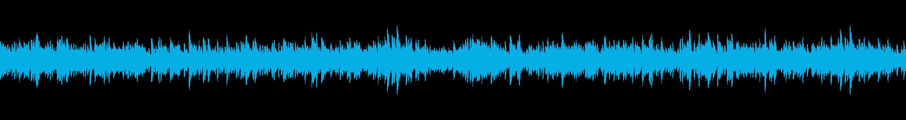 映像向けシンプルで切なく儚いピアノの再生済みの波形
