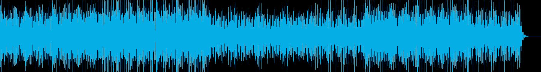 クールでおしゃれなハウス・テクノトラックの再生済みの波形