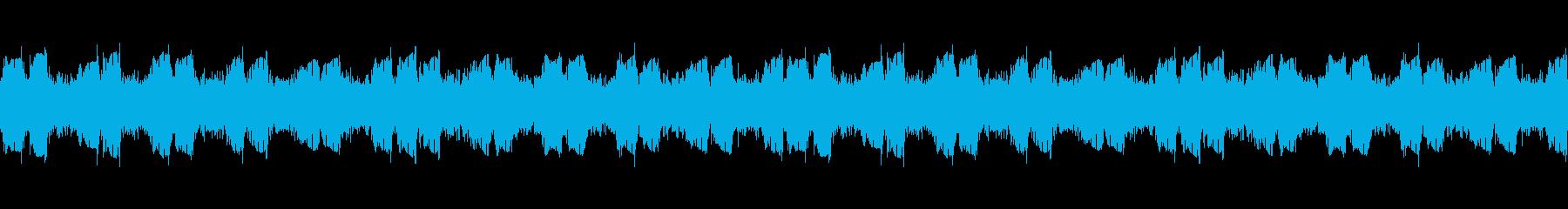 ヘビーギター2、BPM140、A、リフの再生済みの波形